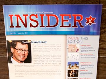 Insider Quarterly Report
